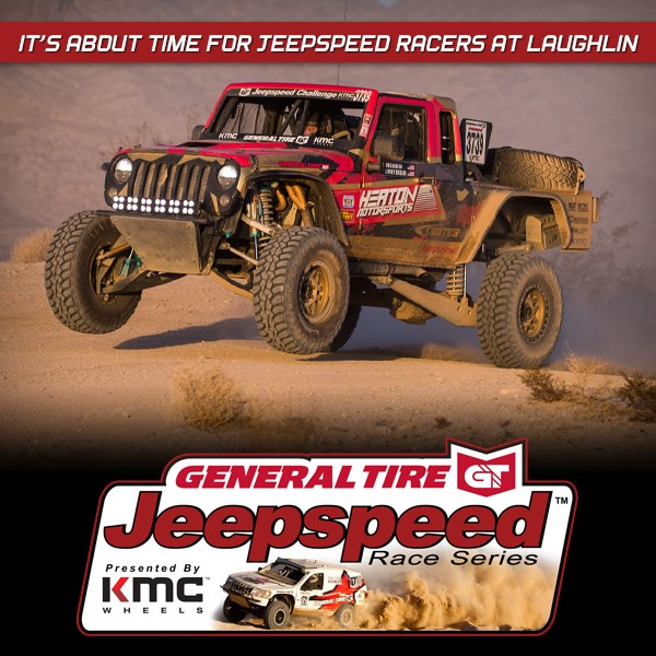 It's About Time For Jeepspeed Racers At Laughlin Desert Classic