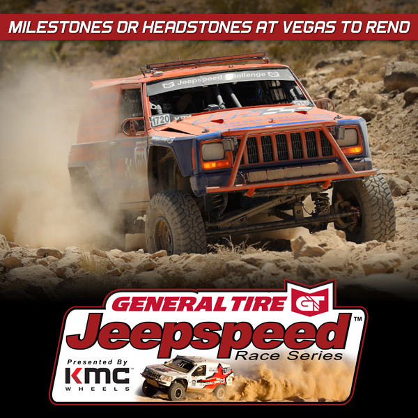 Milestones Or Headstones For Jeepspeed Racers At Vegas To Reno